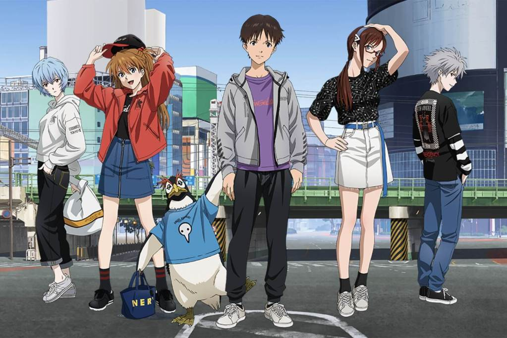 Uniqlo sister brand GU teams up with Evangelion for fashionable new collaboration