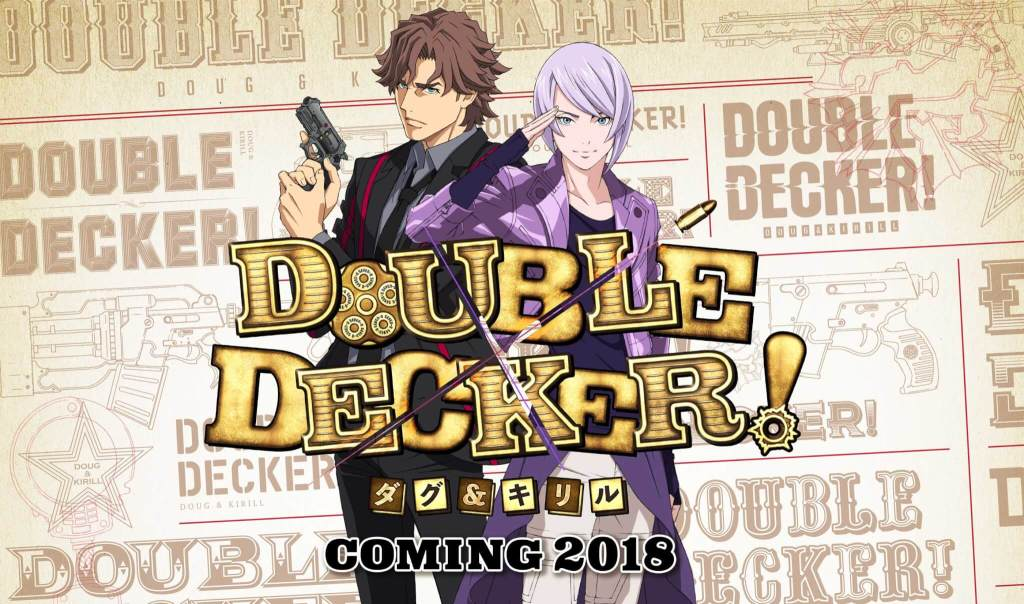 New Tiger and Bunny spin-off anime, Double Decker! Doug and Kirill, announced