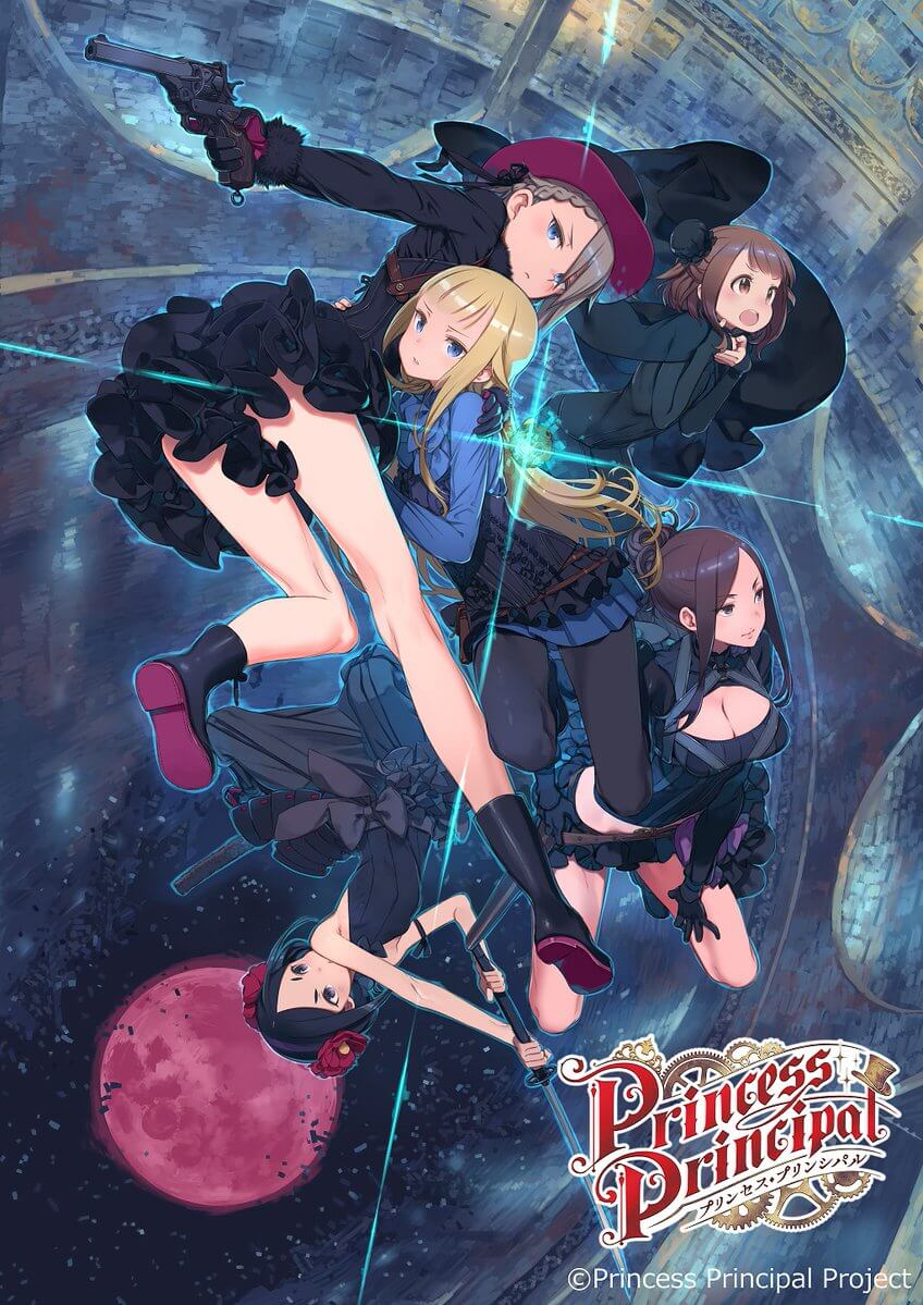 Princess Principal gets a 6-part sequel anime film series