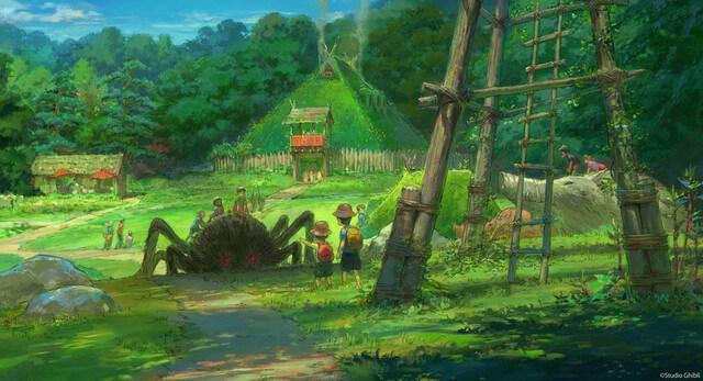 Ghibli Park unveils new concept artworks and details