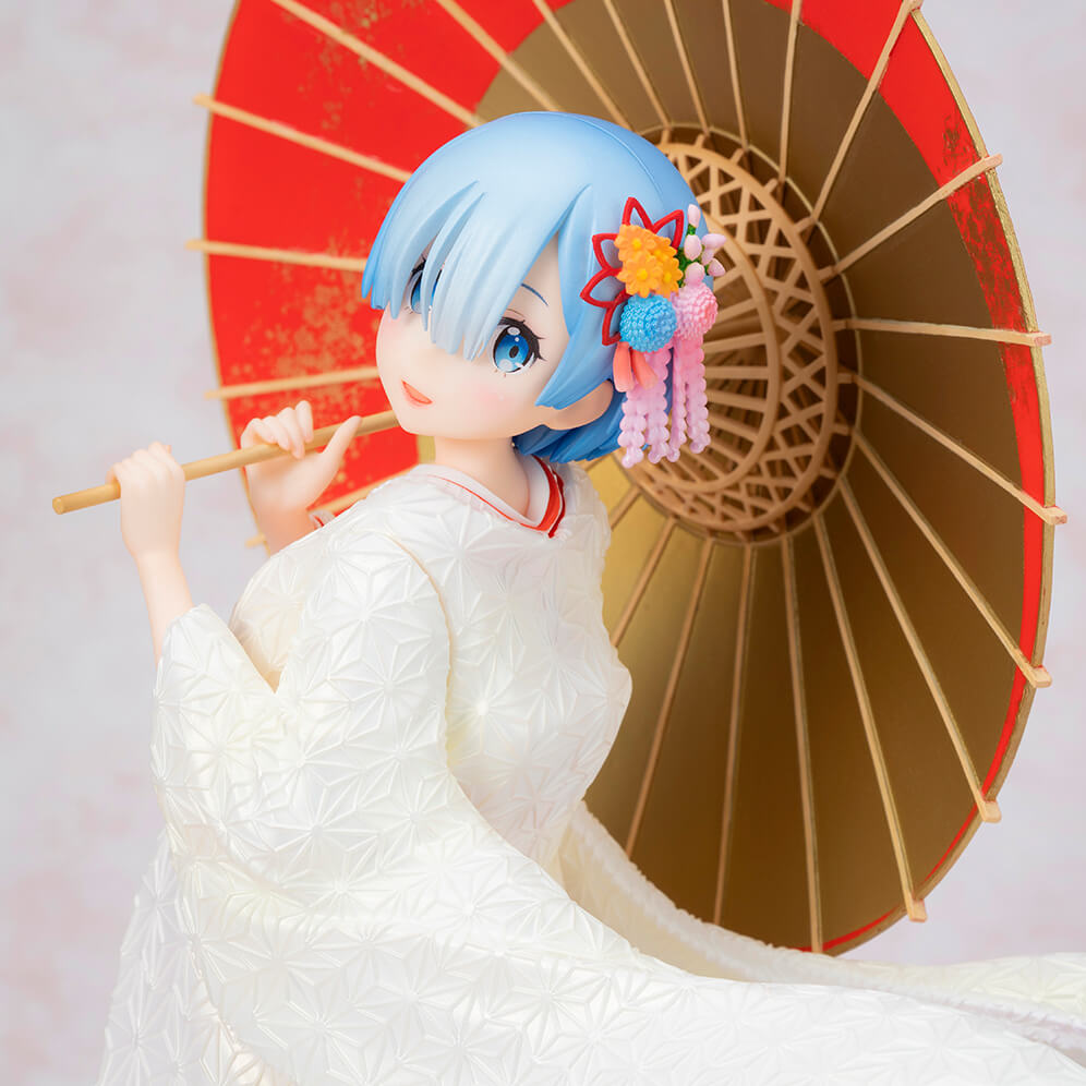 Bring Your Waifu Home, Literally! Re:Zero Rem Japanese Bride Figure Out 2019