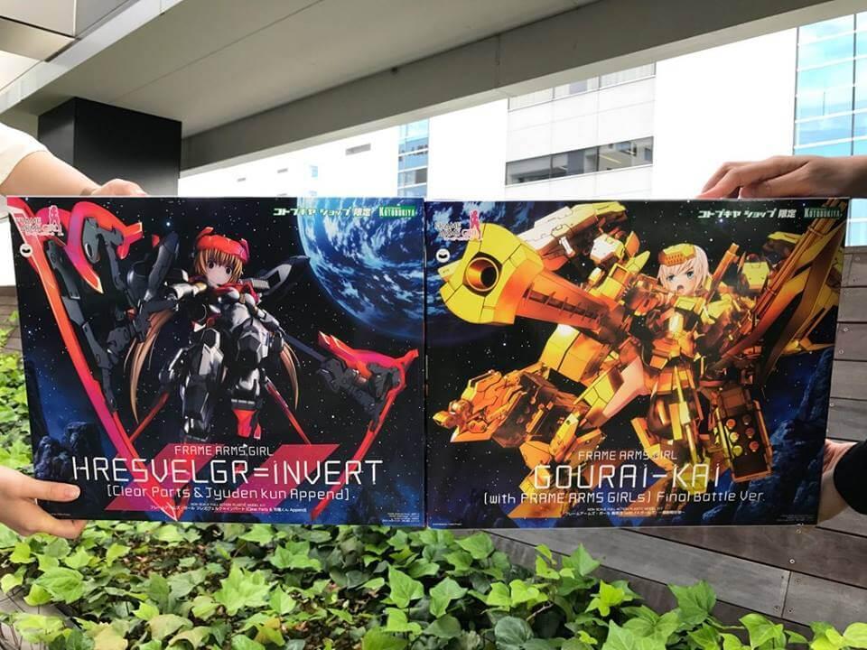 Kotobukiya reveals huge Frame Arms Girl releases with Gourai-Kai and Hresvelgr=Invert