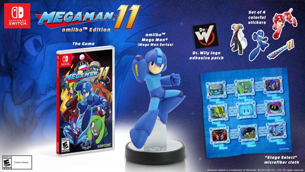 Mega Man 11's Pre-order trailer announces release date