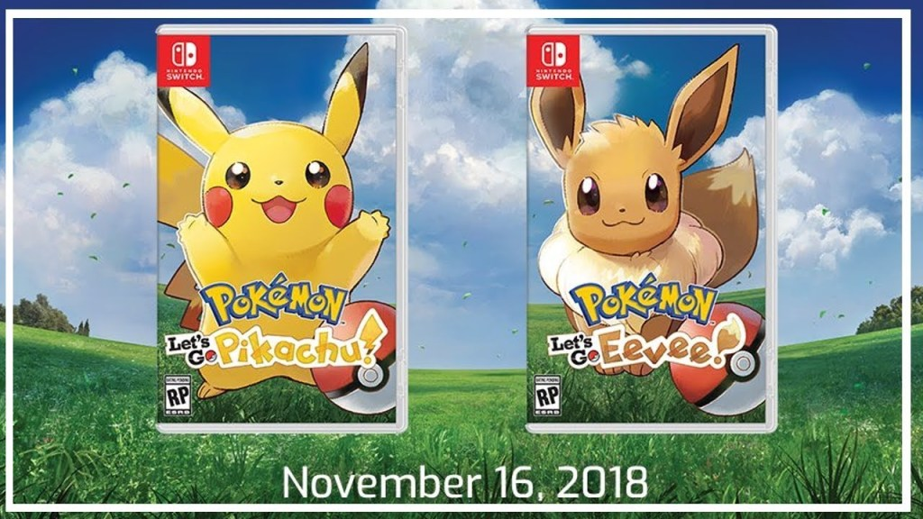 New Pokemon games finally announced for the Switch, titled Let's Go Pikachu/Eevee