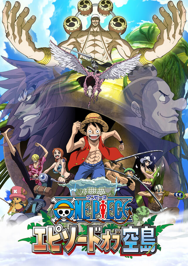 ONE PIECE Episode of Skypeia Special to be Broadcast 25th August