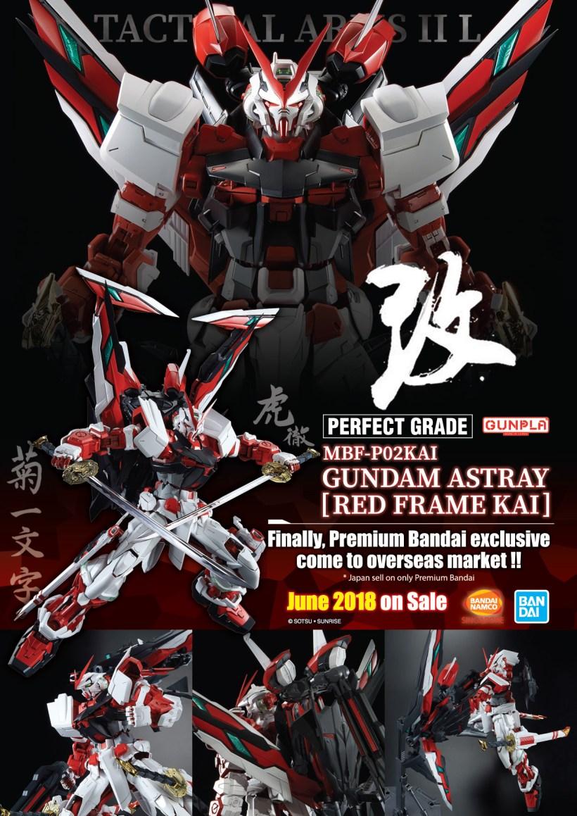 PG Gundam Astray [Red Frame Kai]