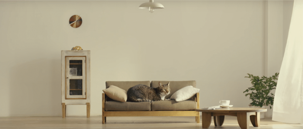 Japanese Craftsmen Create Beautiful Furniture for Cats