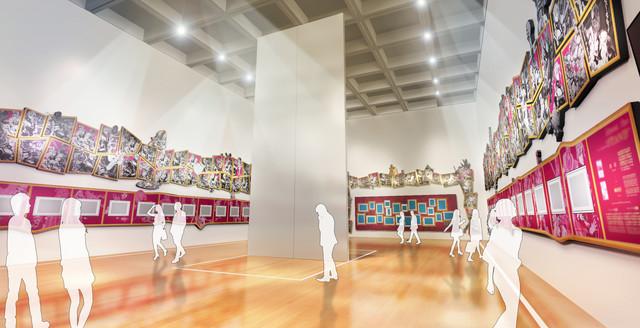 Hirohiko Araki JoJo Exhibition7