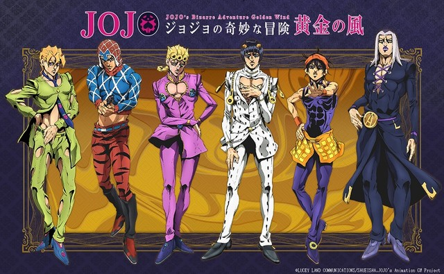 "New ""Jojo's Bizarre Adventure Golden Wind"" PV Released!"