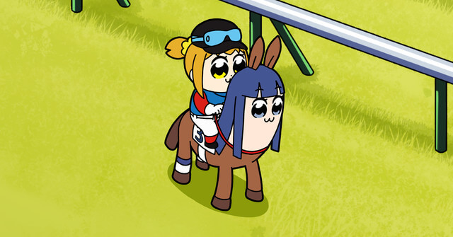 Never Too Much Horsing Around with the POP TEAM EPIC x JRA Collaboration!