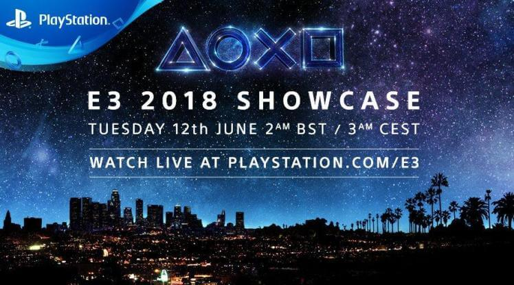 E3 2018: Sony Conference