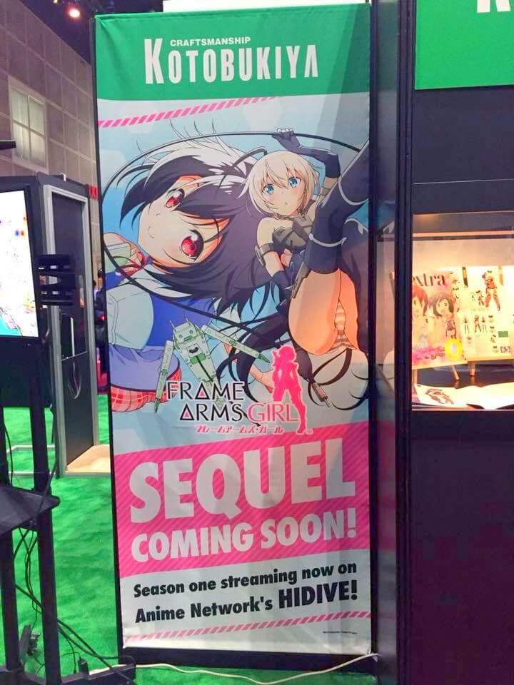 "Kotobukiya Teases ""Frame Arms Girl"" Season 2 at AX 2018!"