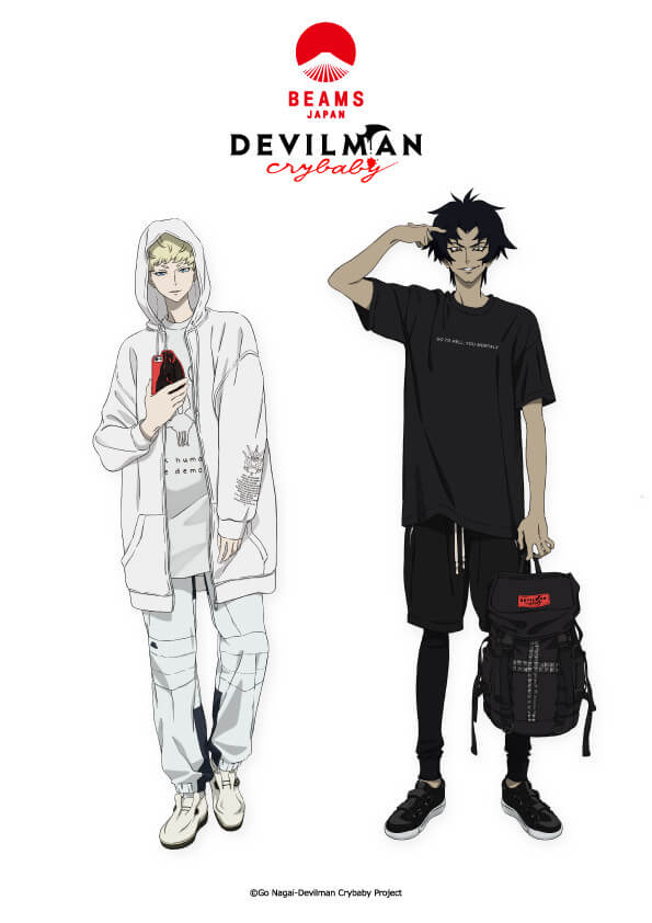 """Devilman Crybaby"" x BEAMS Collab Pop-up Store to Open in Shinjuku"