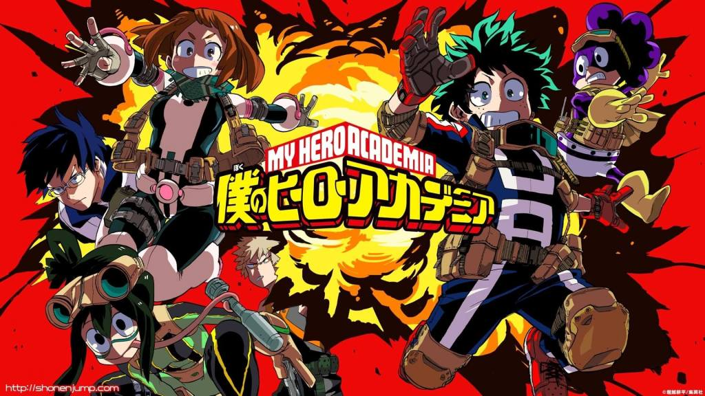 My Hero Academia is getting a 2.5D play