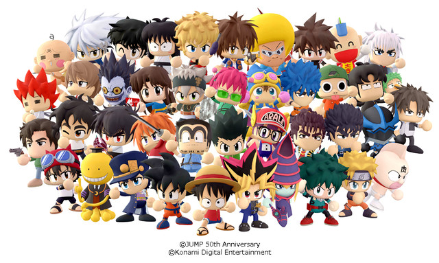 "Konami to Release New Shounen Jump Mobile Game ""Jikkyu Jan Jan Stadium"""