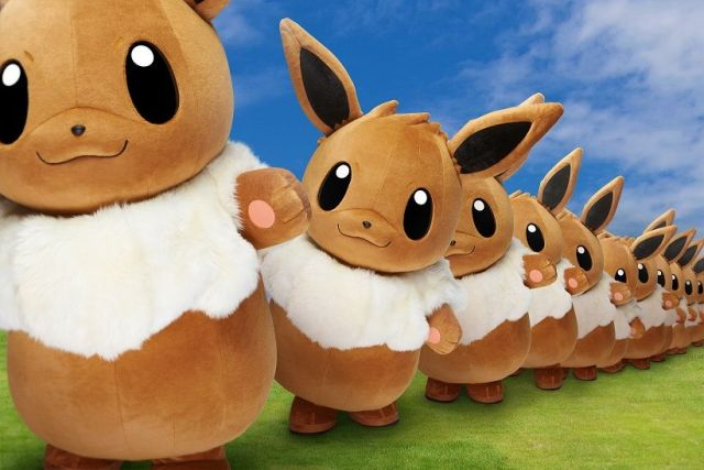 Pikachu Outbreak 2018 to also include mobs of dancing Eevees