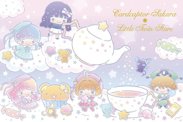 Cardcaptor Sakura and Little Twin Stars team up for an adorable collaboration