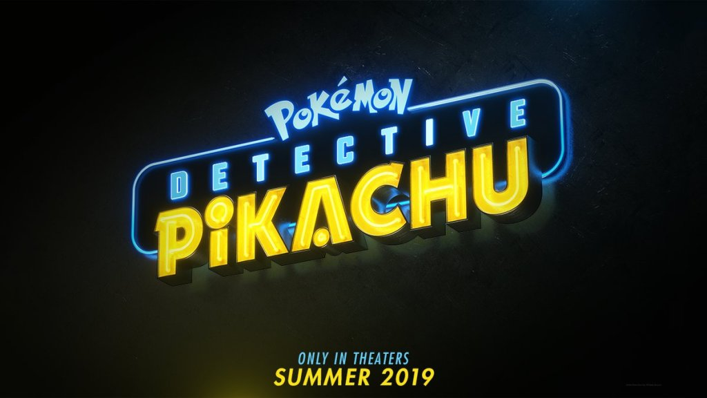 Detective Pikachu Hollywood live-action film's logo revealed