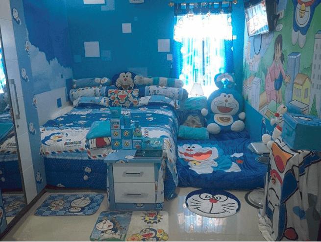 Indonesian family's home is a Doraemon fan's dream house