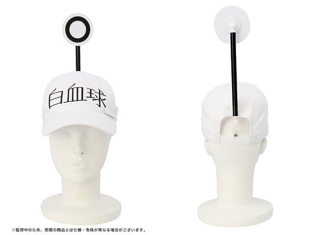 """Fight germs as official WBC cap from """"Cells At Work!"""" revealed!"""