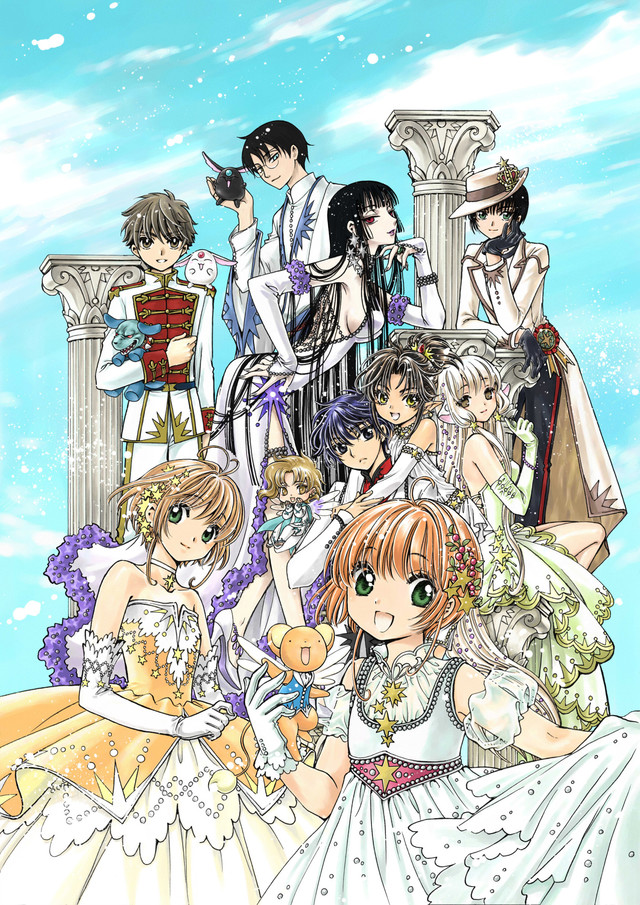 CLAMP Releases New Artbook with Never-Before-Seen Illustrations!