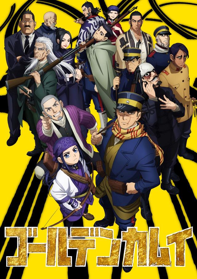 Golden Kamuy Season 2 unveils new key visual
