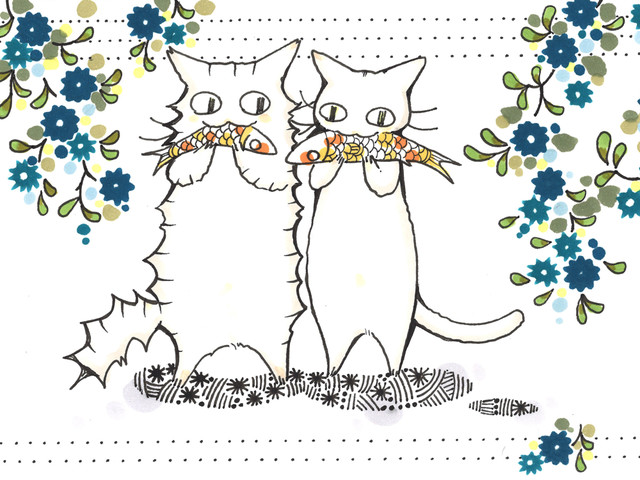Shoujo Manga-ka Paint Cats for Charity