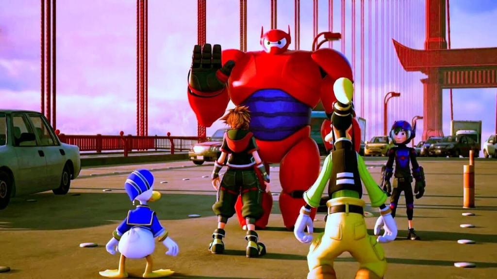 Kingdom Hearts III unveils new Big Hero Six world trailer