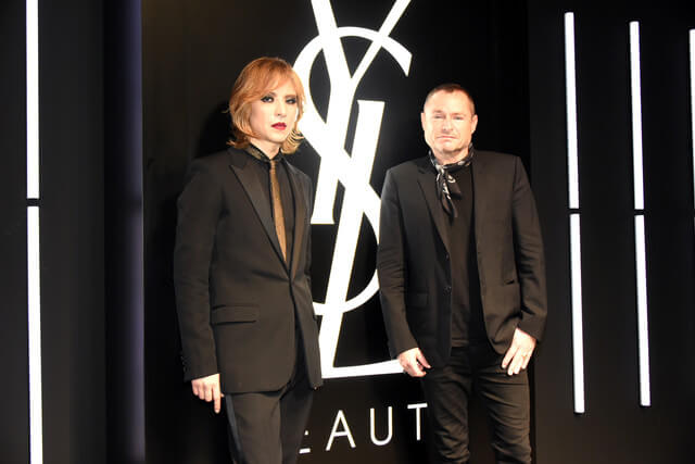 X JAPAN's YOSHIKI Appears at Luxury Brand YSL Beauty Special Event