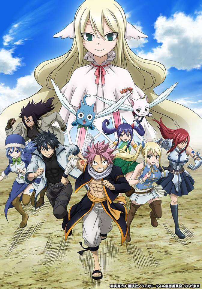 Fairy Tail Final Season unveils new PV and key visual