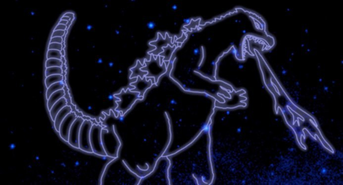 Godzilla is now officially a constellation thanks to NASA