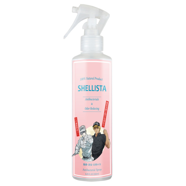 "Fight Germs the Natural Way with the Shellista ""Hataraku Saibou!"" Spray!"