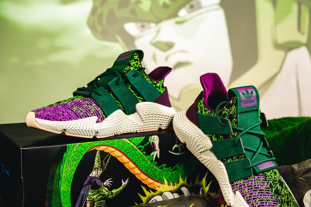Adidas adds second wave of Dragon Ball collaboration shoes with Gohan and Cell