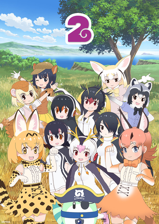 Aniplus Asia reveals Kemono Friends 2 simulcast premiere date