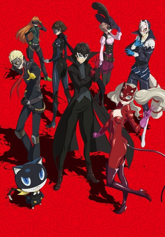 """PERSONA5 the Animation"" Announces Year-End Special ""Dark Sun""!"