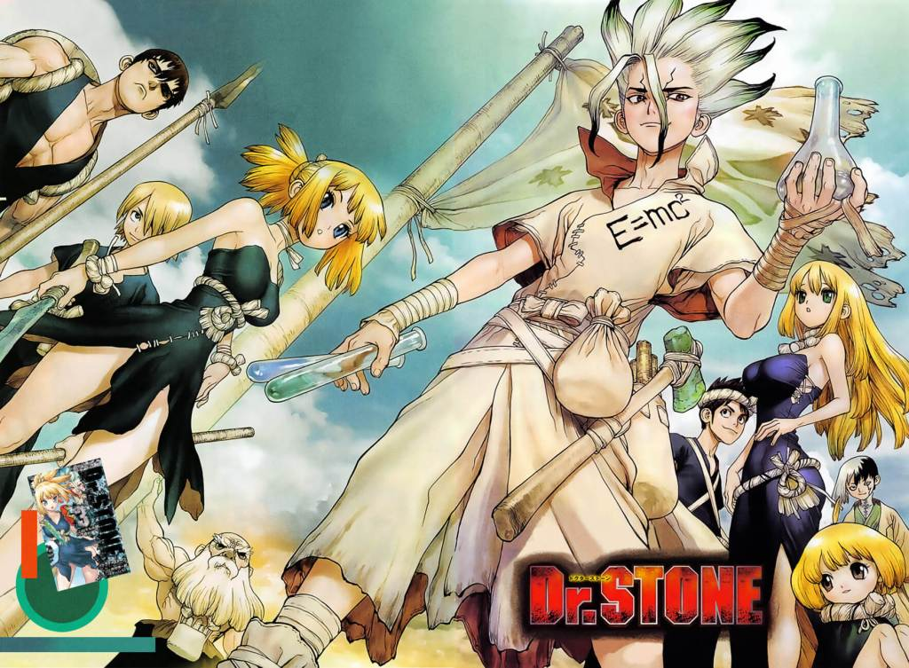 Shonen Jump manga, Dr. Stone, is getting a TV anime adaptation