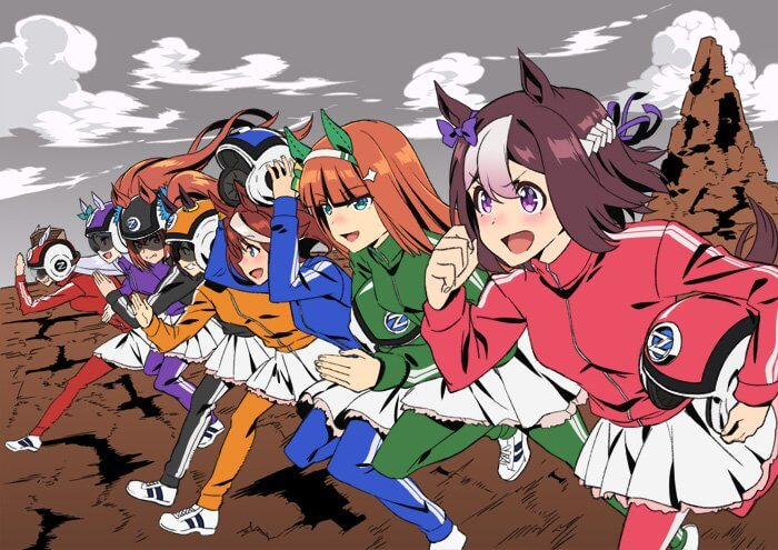 Umamusume sends off Zombie Land Saga with special tribute artwork