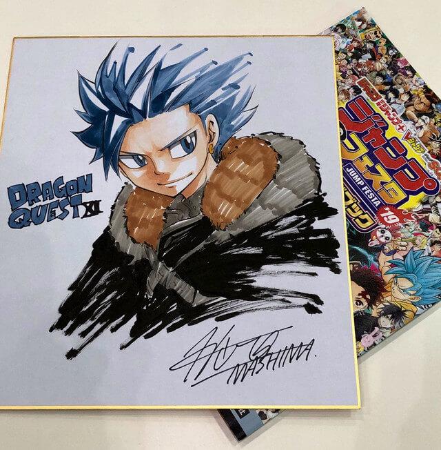 Fairy Tail mangaka Hiro Mashima to illustrate Dragon Quest XI manga