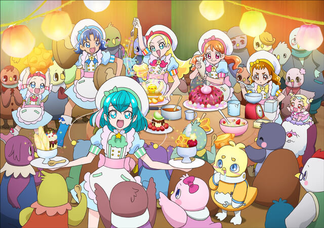PreCure Miracle Universe film reveals new still images