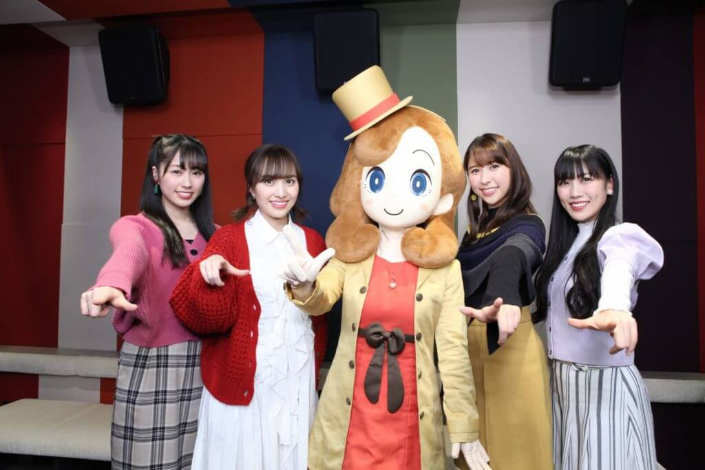 Momoiro Clover Z idols to guest star in Layton Mystery Tanteisha anime