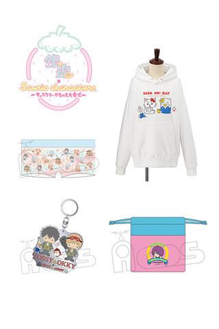 Gintama x Sanrio collaboration merchandise revealed