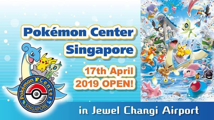 Pokemon Center Singapore opens 17th April