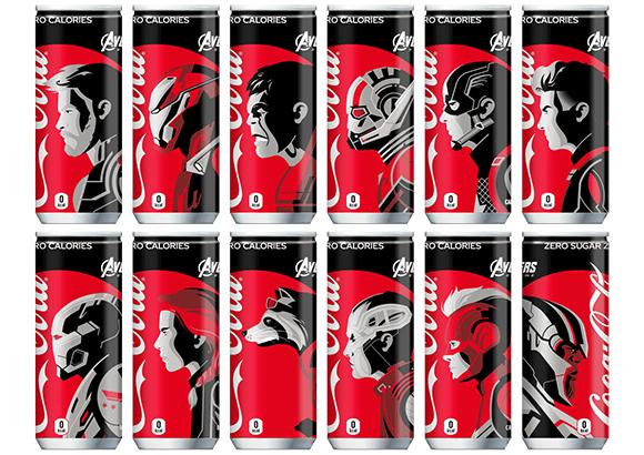 Avengers: Endgame x Coca-Cola Zero!