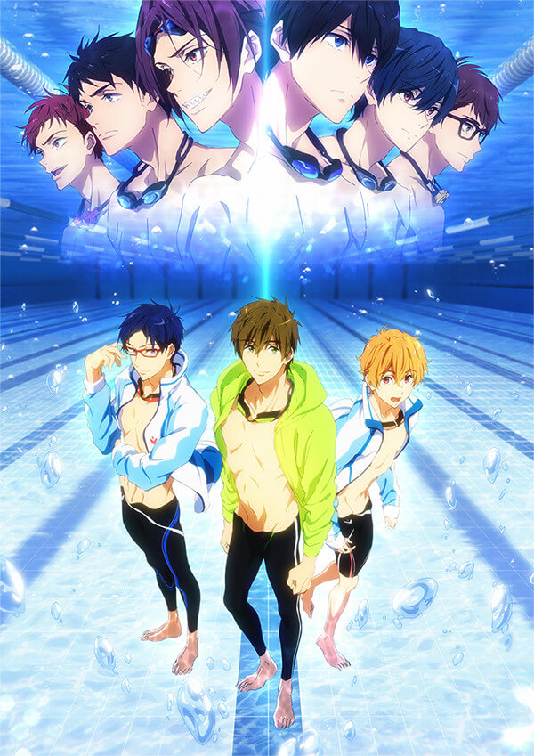 Free!-Road to the World-Yume new visual and  teaser trailer!