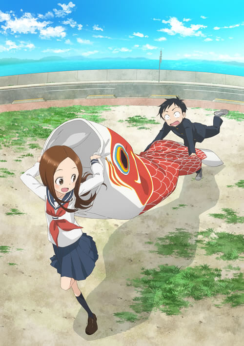 Teasing Master Takagi-san season 2 reveals theme song performer and key visual