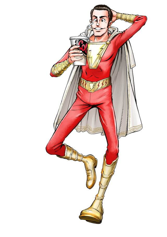 Monkey Punch did a promotional artwork for DC film Shazam before passing away