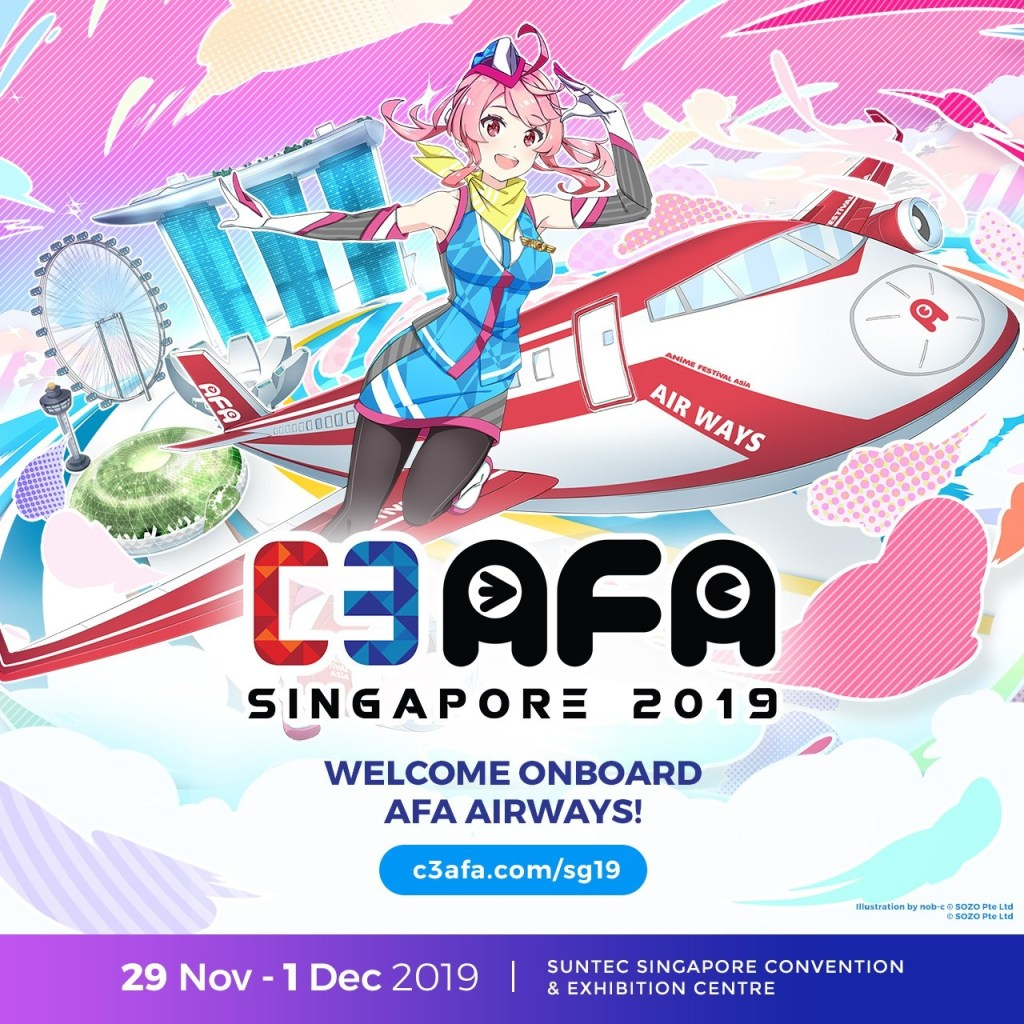 C3AFA Singapore 2019 Announces I LOVE ANISONG Line-Up!