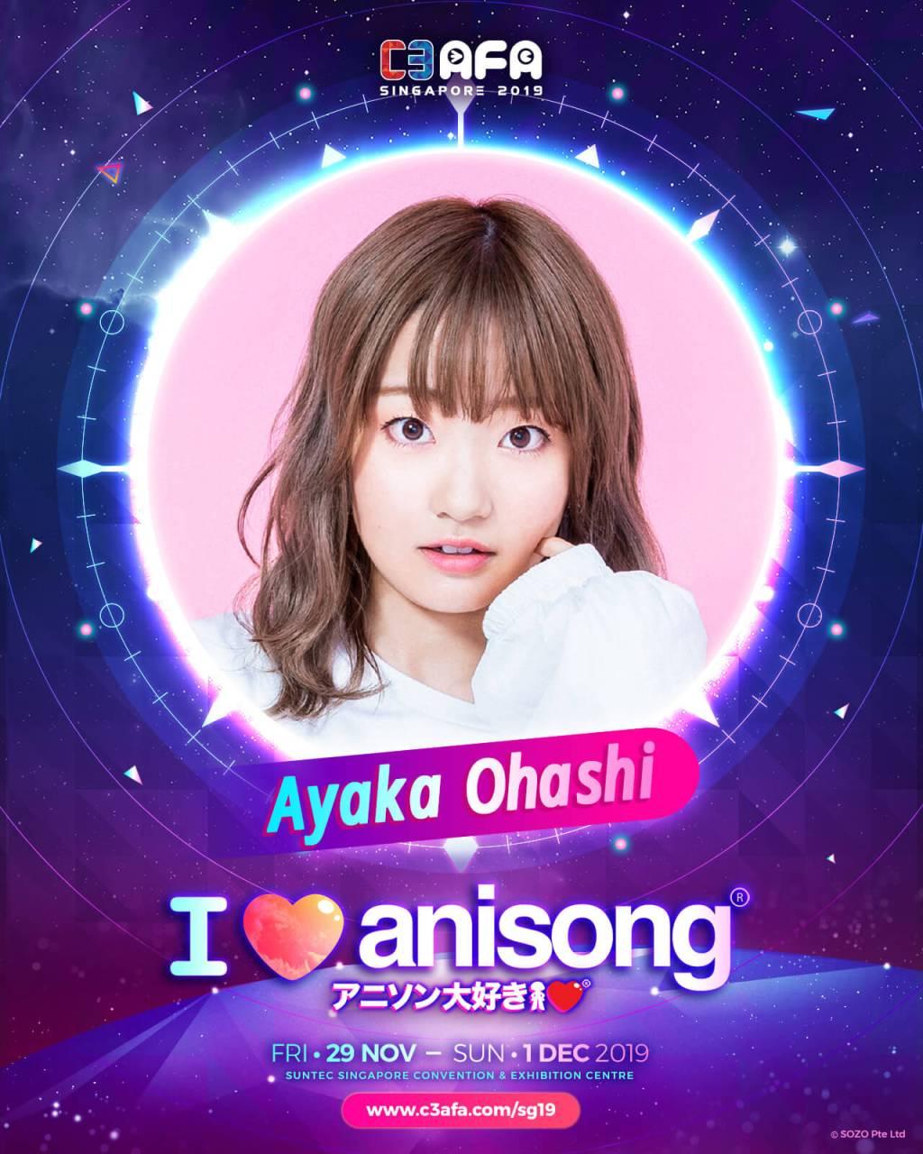 C3AFA Singapore Guest Profile: Ayaka Ohashi