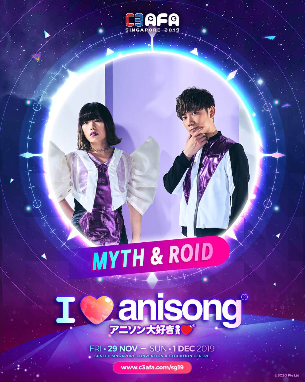 [SO JAPAN x C3AFA Singapore] An Exclusive Q&A with Myth & Roid
