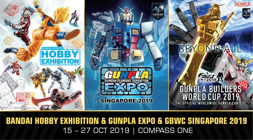 Three Bandai Events Slated in Singapore!